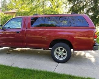 2002 Toyota Tundra 75,000 miles -new wheels -   Cover       WE WILL BE TAKING BIDS UNTIL 1 PM SATURDAY THE 22nd