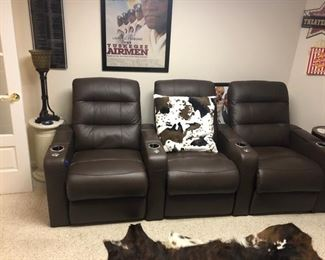 Leather Theater Seats