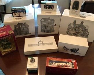 Dept 56 -  Over 20 different villages