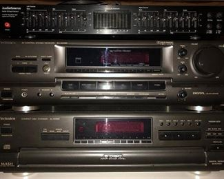 Technics VCR/CD player and Receiver