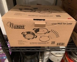 Nuwave Cookware new