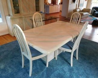 Dining Table and Chairs -- View Colors