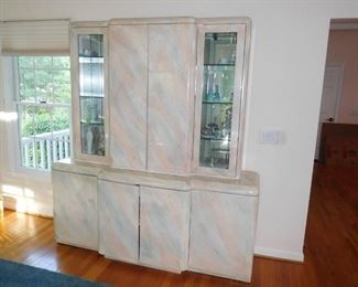 Outstanding China Cabinet - Matches Table - Beautiful Colors