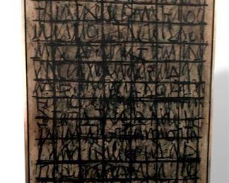 Harry Bouras original mid century art collection