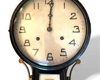 Antique banjo clock