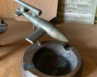 Trench art ashtray