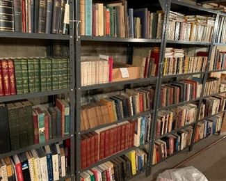 First editions, rare, and general interest books.