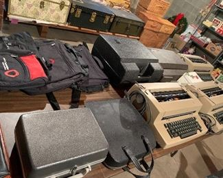 Selection of electric typewriters