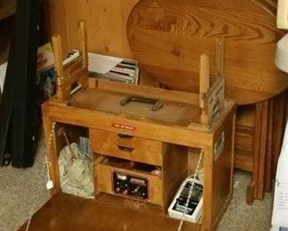 Fabulous custom wood fly box.