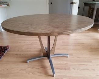Plastic laminate Danish style dining table