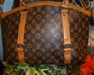Classic monogram LV purse