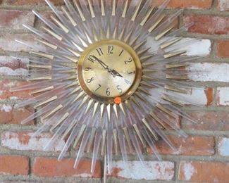 General Electric Starburst Clock (does not work needs repair)
