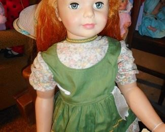 Ideal HARD TO FIND!! Carrot Top Patty Play Pal, Original Dress