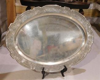 Tiffany & Co. Sterling Tray - 67.2 Pure Ounces of Silver