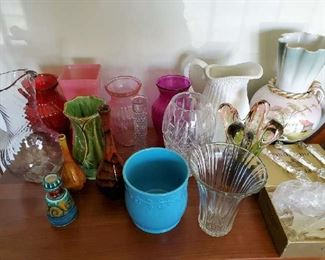 Vases and Pitchers