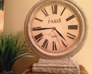 Fun Paris clock