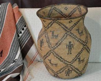 "Large 16"" Apache Basket (olla)"