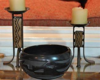 Santa Clara signed bowl