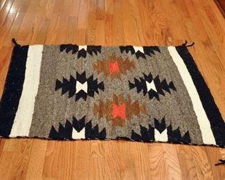 Saddle blanket, young weaver moth damage