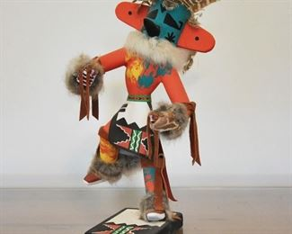 Thunderbird Kachina with removable headdress - Sold at preview