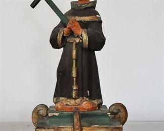 19th century St. Francis santos (saint) New Mexico Territory
