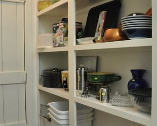 There is a very large walk-in pantry.  It is too difficult to get good pictures.  Many nice items in this area.  Remember all our items are clean and inspected.