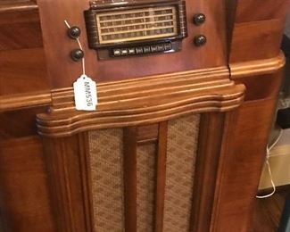 Vintage Radio Console
