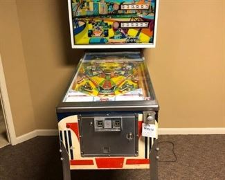 Vintage Grand Prix Pinball Machine