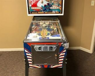 Vintage Pinball Machine- Captain Fantastic
