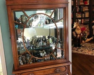 Curio Case Full of Amazing Collectibles