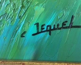 Signed Original  C Jequel