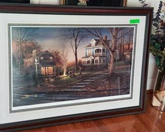 The Aroma of Fall Terry Redlin 1988 signed print