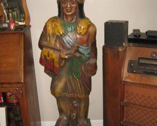 Wooden Indian Statue