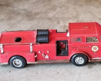 Vintage TEXACO  fire truck
