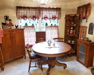 Comfy dining area