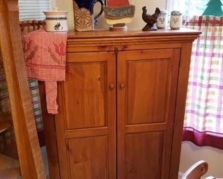 Nice pine cupboard