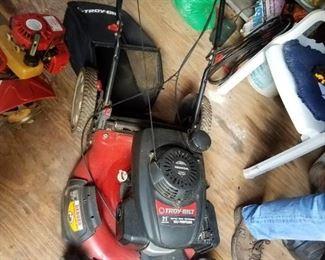 TroyBuilt 21 in self propelled mower