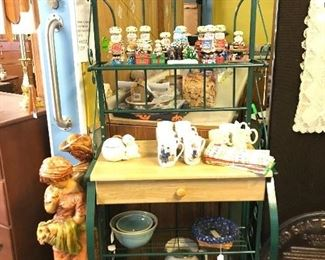 Great bakers rack with drawer, 5 shelves