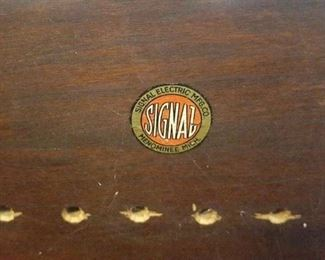 Early Signal Electric Mfg crystal radio