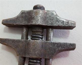 Goldenberg wood-handled nut wrench