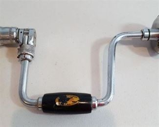 P&B English-made hand drill