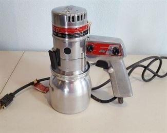 Electro rotary disc airless paint gun