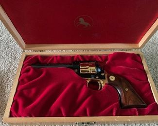 colt in wooden box