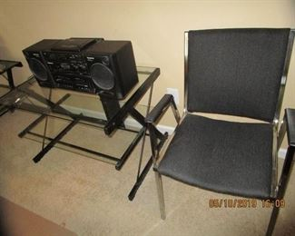 Chairs, Electronics, computer table, etc.