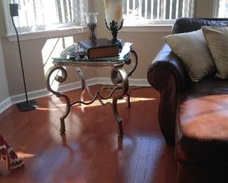 One of two end tables