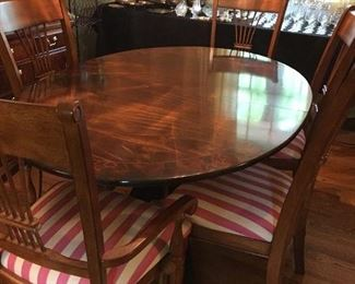 Table 8 chairs Thomasville