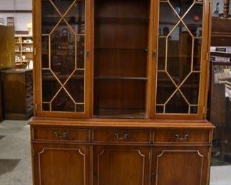 Chippendale bookcase