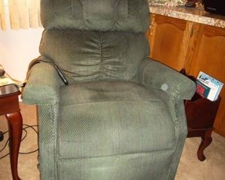 power recliner lift chair - SPOT IS ON OUR CAMERA