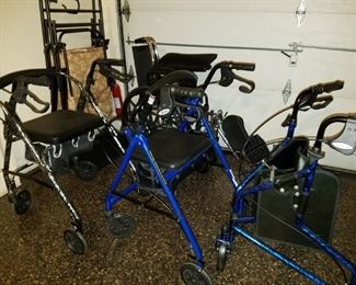 mobility devices, wheelchair and rollators