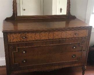 Nice Standard Dresser/Chest with  Mirror